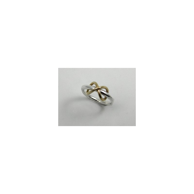 Constantine Designs Two-Tone Infinity Ring