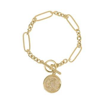 Italian Coin Bracelet