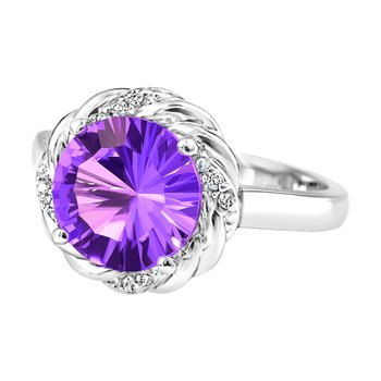 Forever Ice™ Amethyst Ring