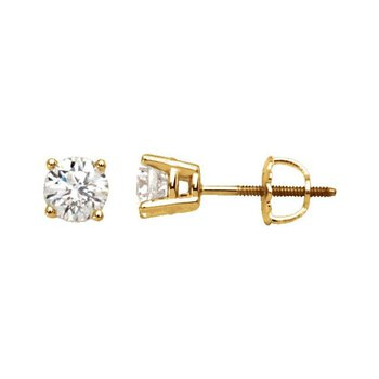 0.26CT TW Canadian Diamond Stud Earrings