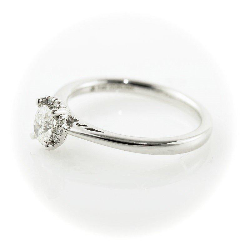 Corona Oval Shaped Halo Engagement Ring