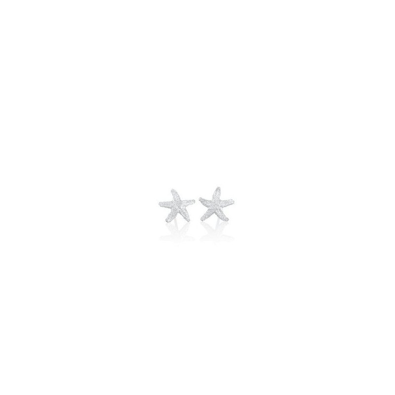Amos Pewter Starfish Stud Earrings