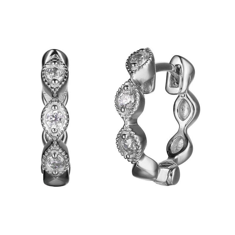 Reign Fancy Hoop Earrings