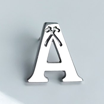 Acadia A Lapel Pin (Large)