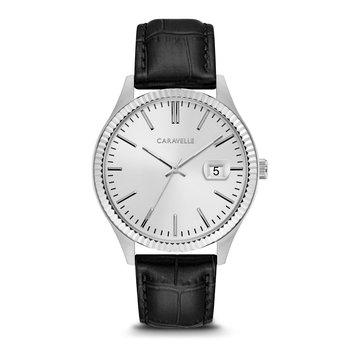 Classic Men's Watch Black Leather