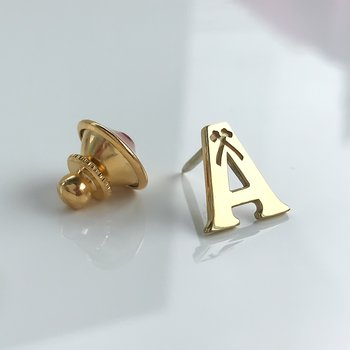 Acadia A Lapel Pin (Small)