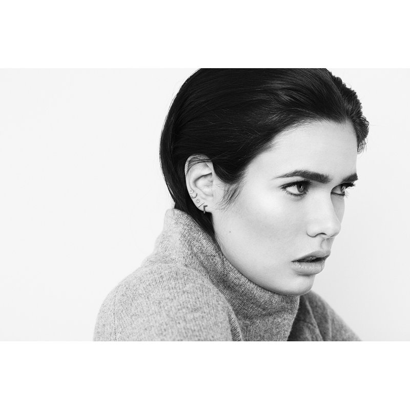Pilar Agueci Line Stud Earring