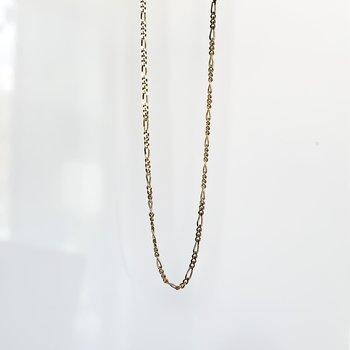 """Yellow Gold Figaro Chain (16"""")"""