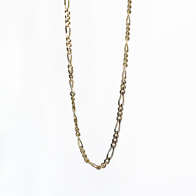 """Tecimer & Johns Yellow Gold Figaro Chain (16"""")"""