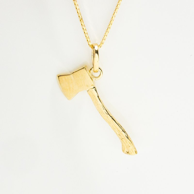 Acadia Jewellery Gold Axe