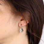 Etrusca Gioielli Moon & Stars Earrings