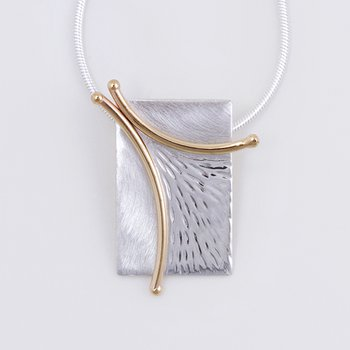 Two-Tone Branch Necklace