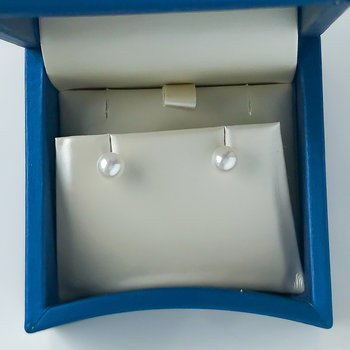 14KW Freshwater Pearl Studs (6 - 6.5mm)