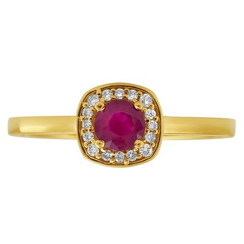 Forever Ice™ Ruby Ring