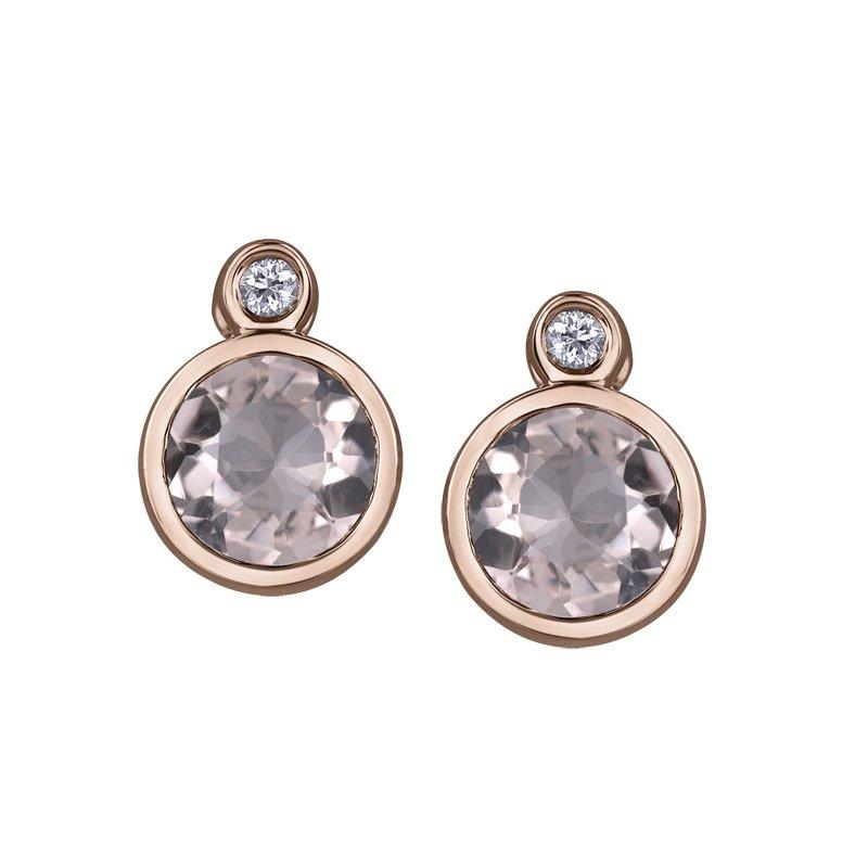 Corona Morganite Earrings