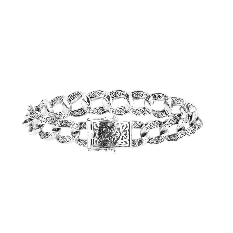 Keith Jack Celtic Knot Curb Link Bracelet