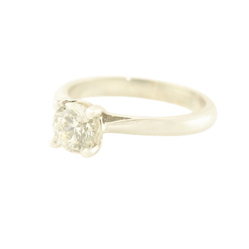 0.82CT Solitaire Engagement Ring