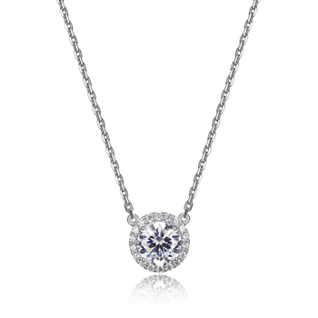 Sterling Silver Diamondlite Necklace