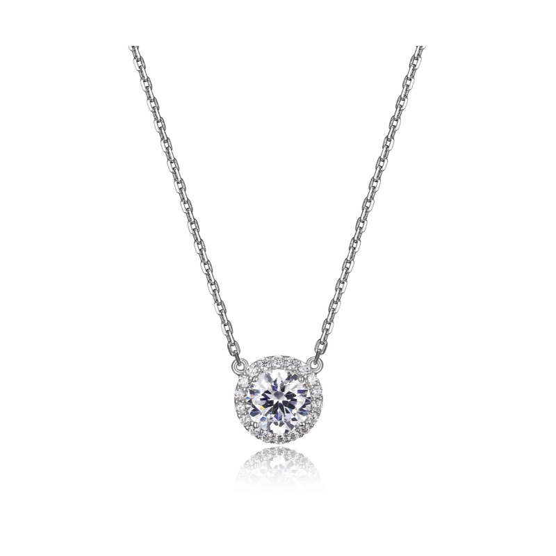 Reign Sterling Silver Diamondlite Necklace