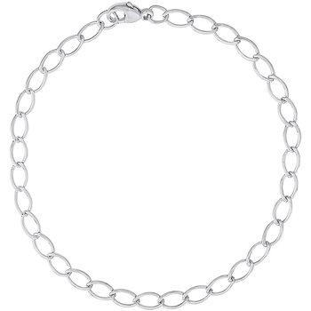 Petite Elongated Oval Link Bracelet