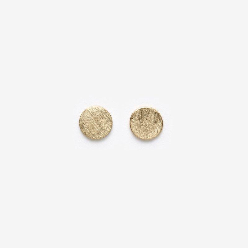 Pilar Agueci Gold Kidd Stud Earrings