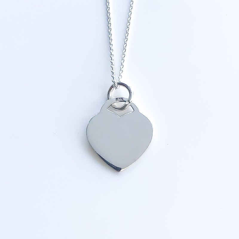 925 Solutions Sterling Silver Heart Pendant