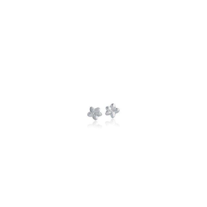 Amos Pewter Apple Blossom Stud Earrings