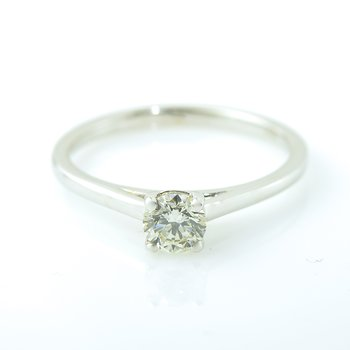 0.40CT Solitaire Engagement Ring