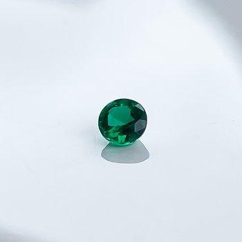 0.26CT Loose Round Emerald Gemstone