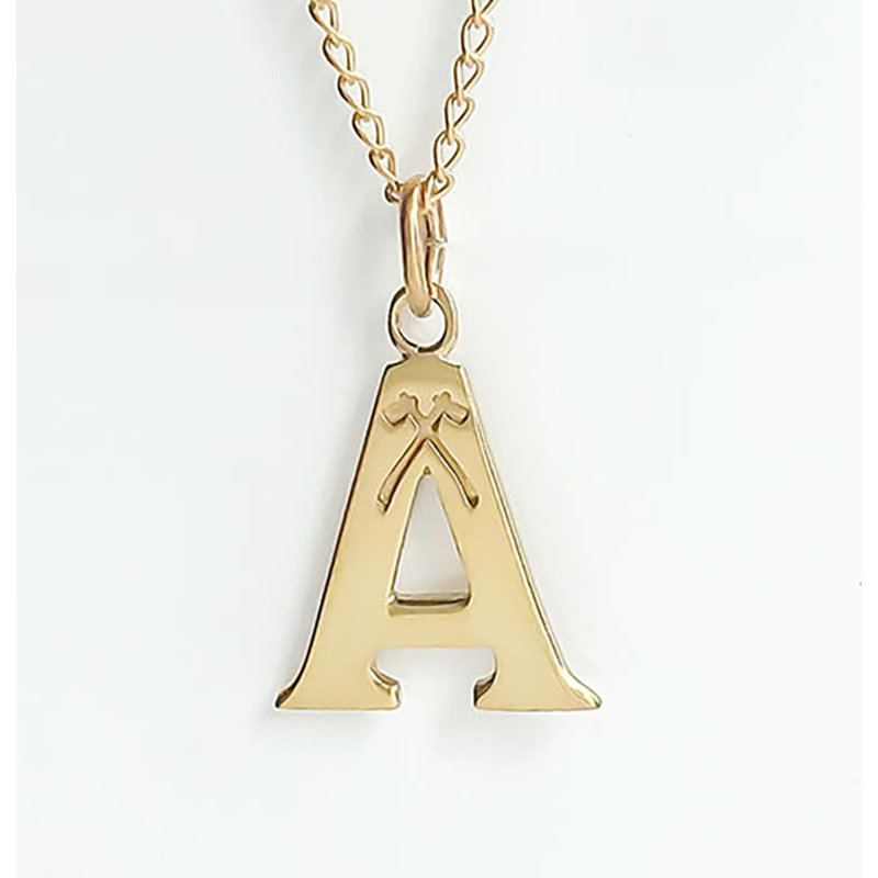 Acadia Jewellery Gold Plated Acadia A (Large)