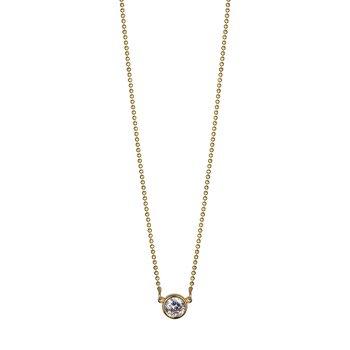 Gold Plated Diamondlite CZ Necklace