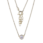 Reign Gold Plated Diamondlite CZ Necklace