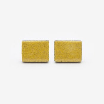 Rectangle Stud Colourflash Earrings *CLICK* to Choose Your Colour