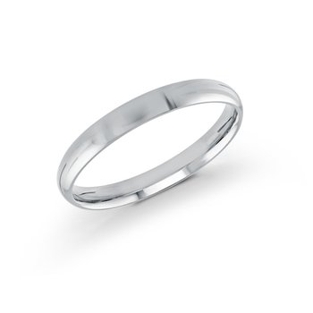Rounded Gold Wedding Band (2mm - 8mm)