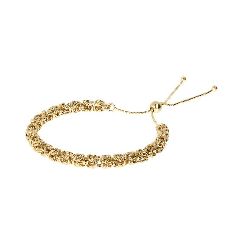 Etrusca Gioielli Byzantine Chain Bolo Bracelet