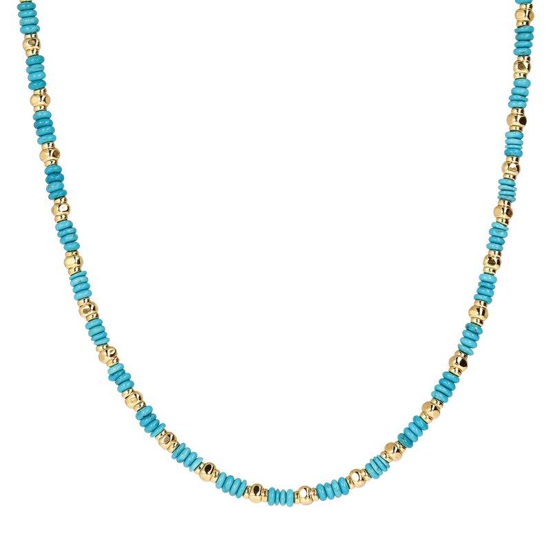 Etrusca Gioielli Turquoise Necklace