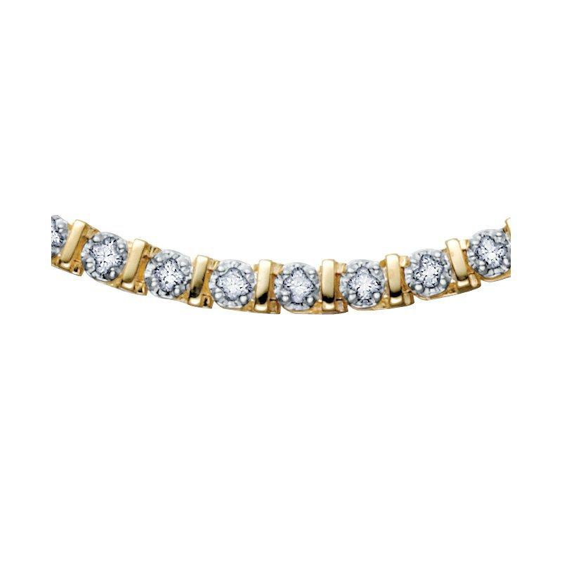 Corona 0.50CT TW Diamond Tennis Bracelet