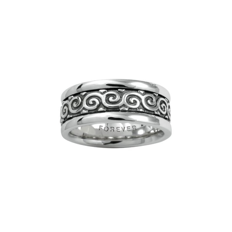Cadman Manufacturing Co. Celtic 'Coil' Wedding Band