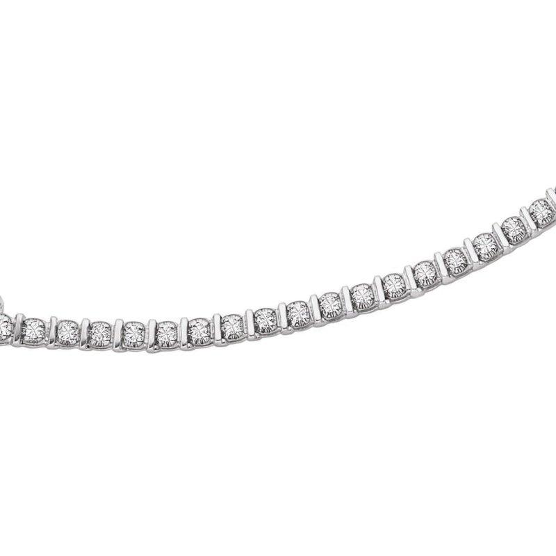 Corona Diamond Tennis Bracelet
