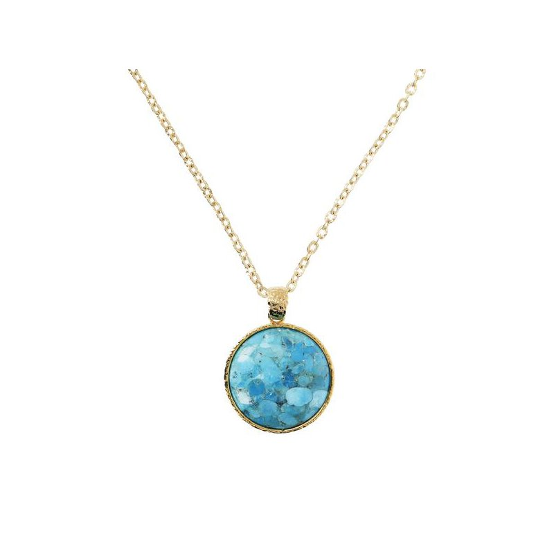 Etrusca Gioielli Turquoise Necklace