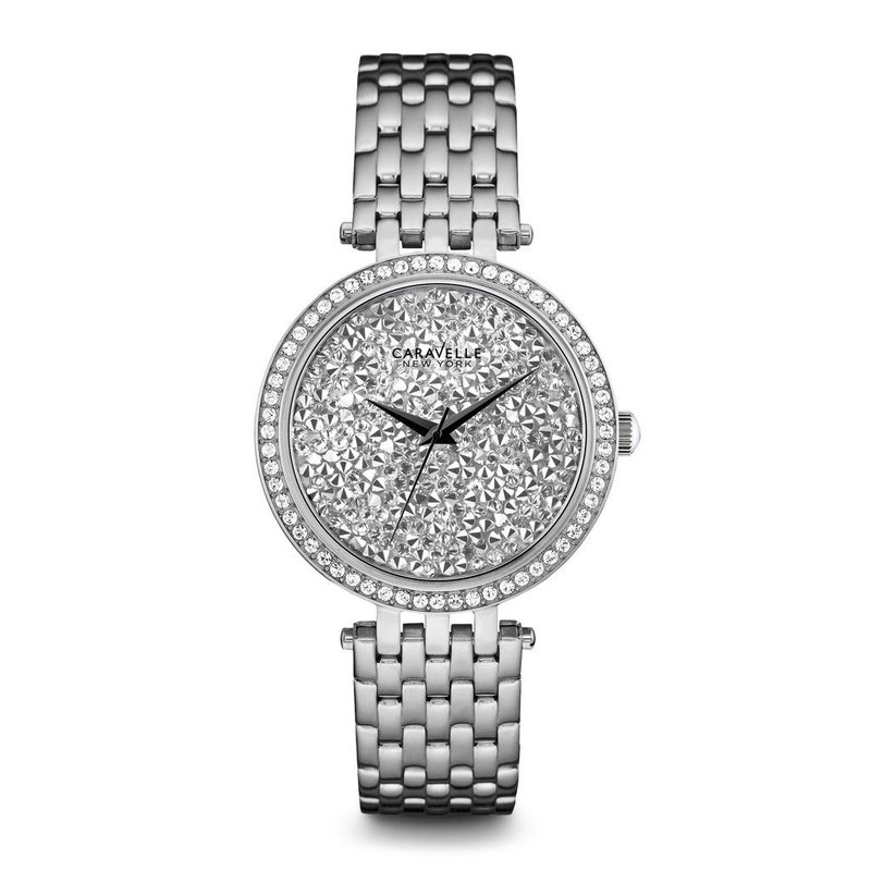 Caravelle Crystal Watch