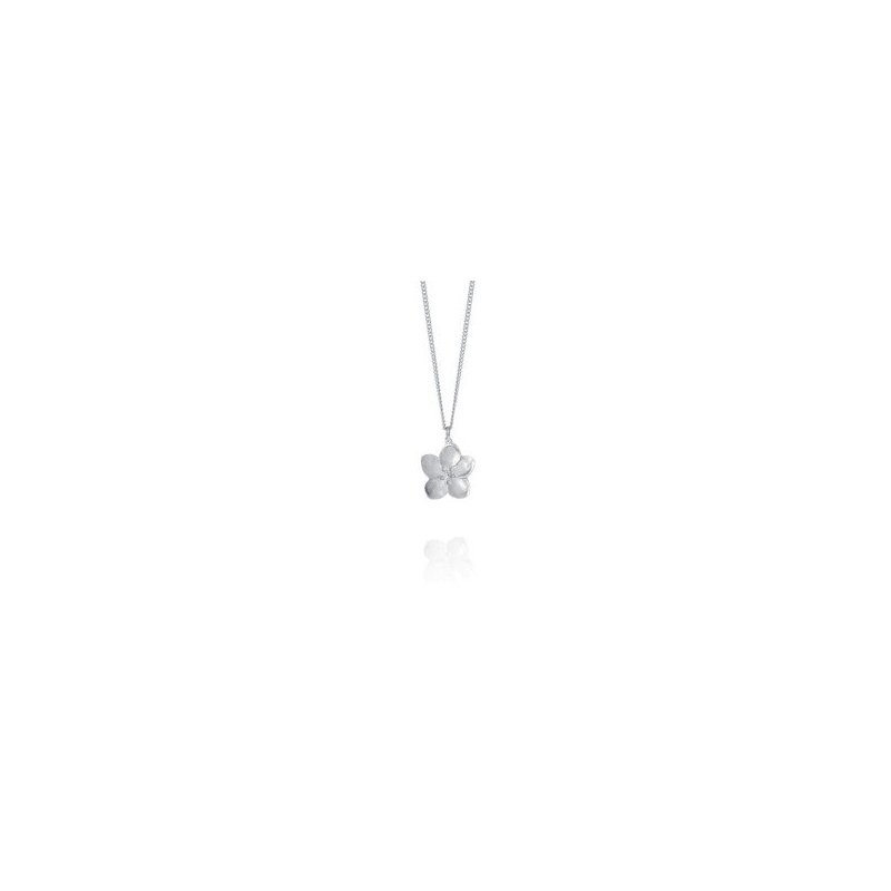 Amos Pewter Apple Blossom Necklace