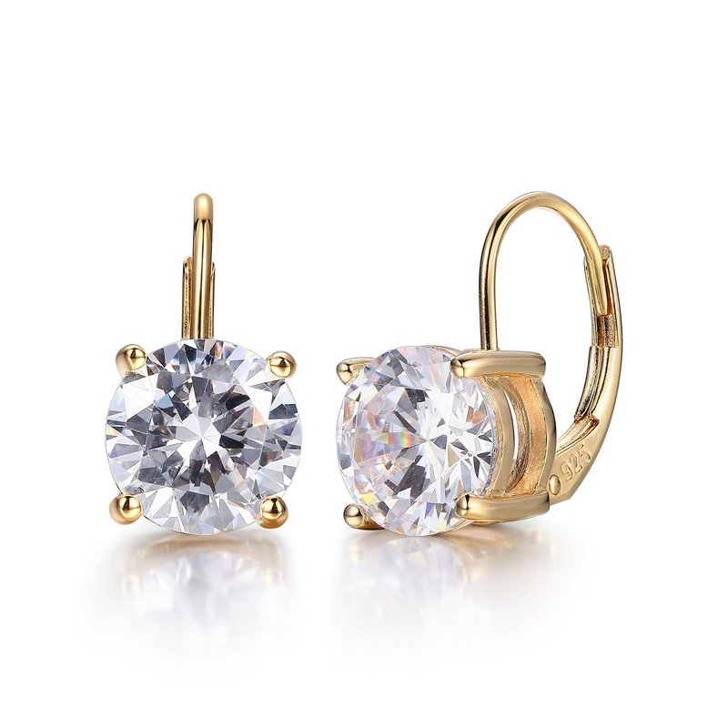 Reign Gold Plated Earrings