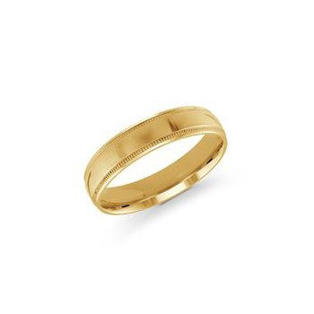 Gold Milgrain Band (5mm)