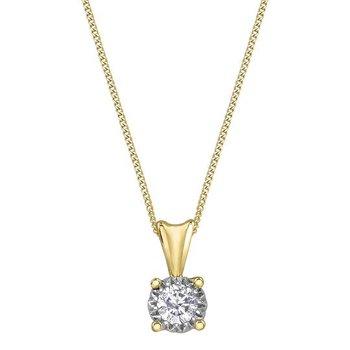 Illuminaire Diamond Necklace