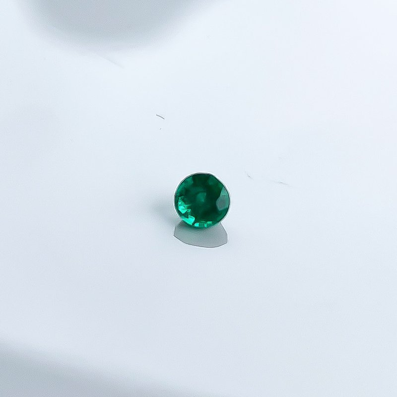 HJ Gemstone Collection 0.19CT Loose Emerald Gemstone