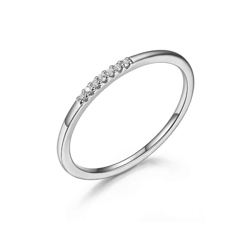 Reign Dainty Sterling Silver Ring