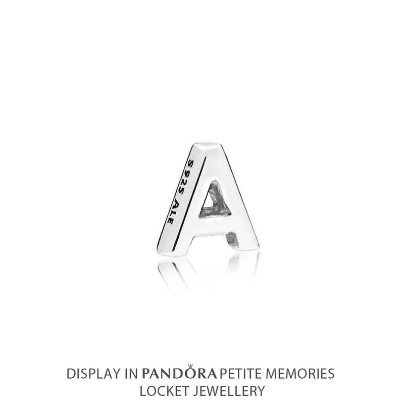 PANDORA Letter A Petite