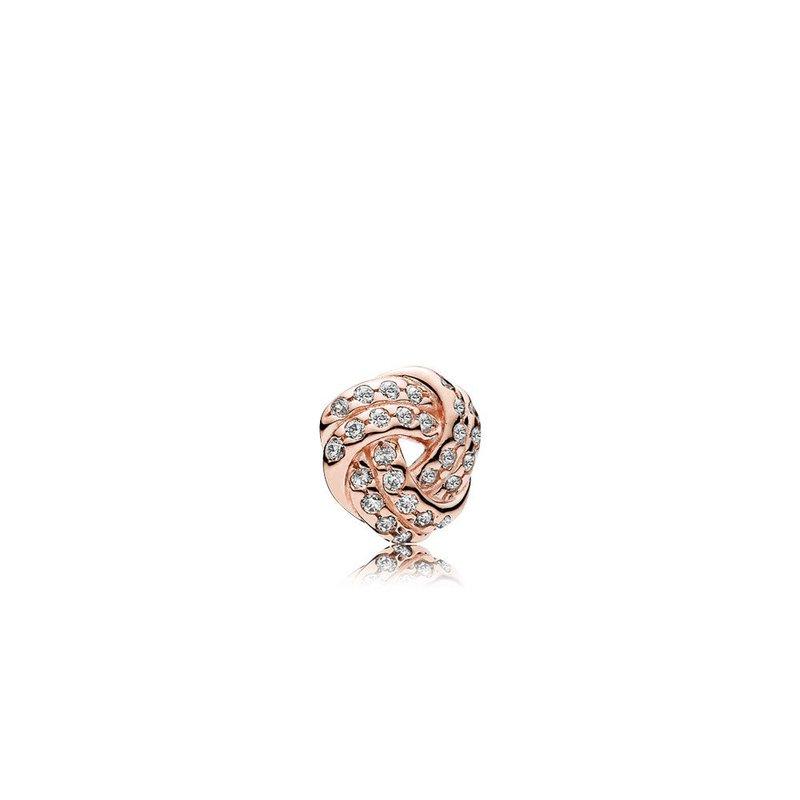 PANDORA Sparkling Love Knot Petite