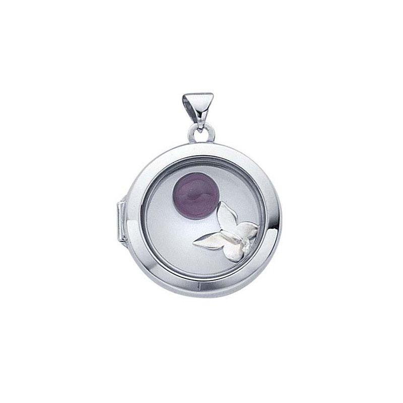 Sterling Silver Kaleidoscope Pendant